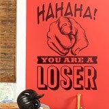 Wall Stickers: Hahaha, you are a loser 2
