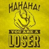 Wall Stickers: Hahaha, you are a loser 3