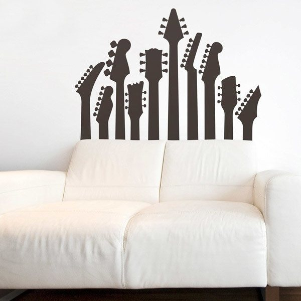 Wall Stickers: Guitar masts