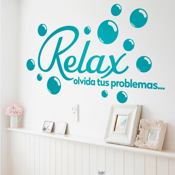 Wall Stickers: Relax, olvida tus problemas