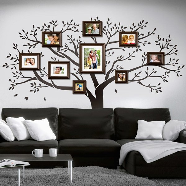 Wall Stickers: Family tree