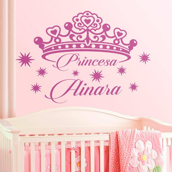 Stickers for Kids: Personalized princess