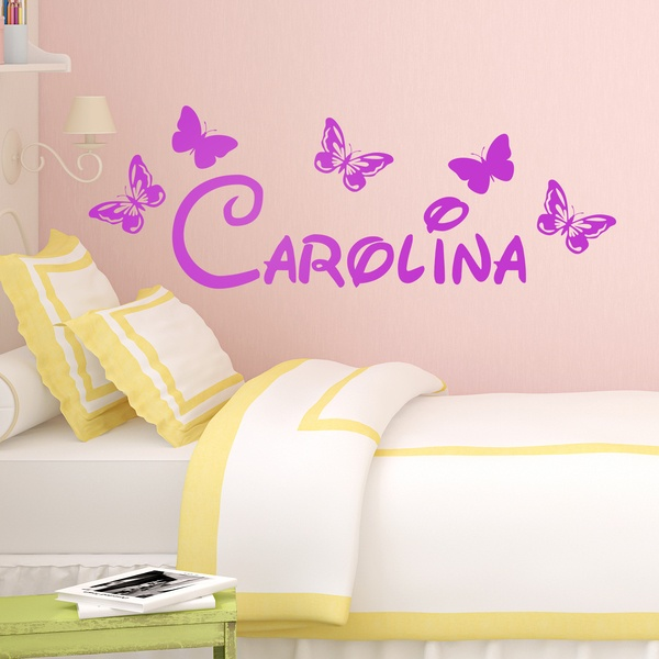 Stickers for Kids: Name among butterflies 0