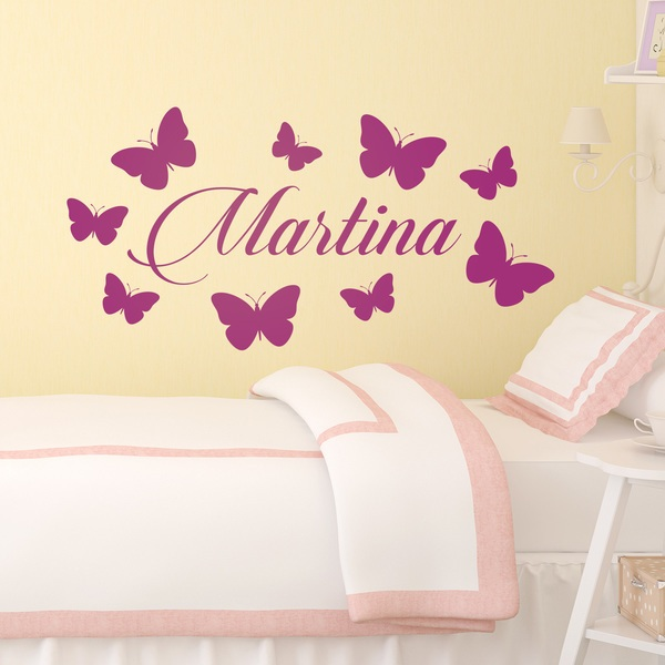 Stickers for Kids: Custom Butterflies 2