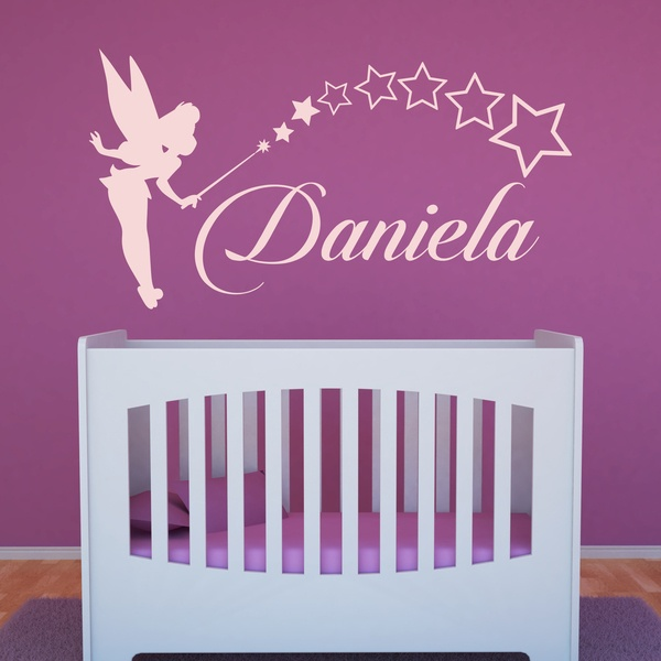 Stickers for Kids: Custom Tinkerbell fairy 0