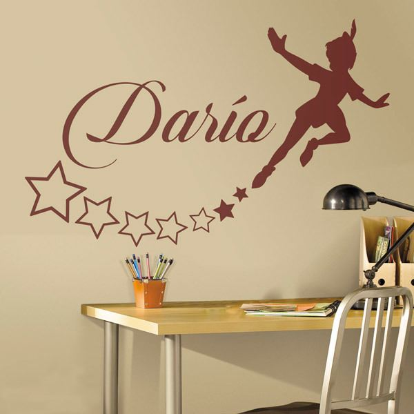 Adesivi Murali Peter Pan.Disney Wall Decals Wall Stickers For Kids Muraldecal