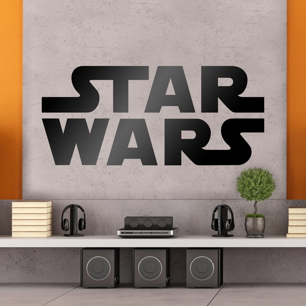 Wall Stickers: Star Wars logo