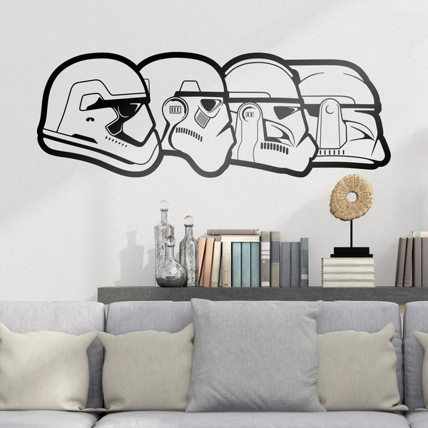 Wall Stickers: Stormtrooper Evolution