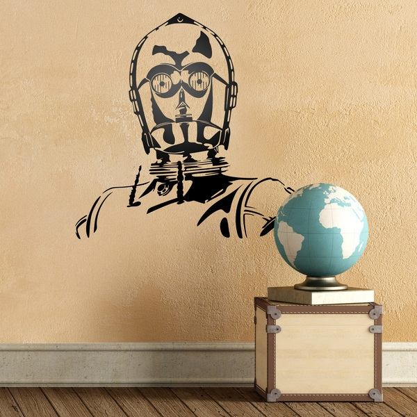 Wall Stickers: C3-PO