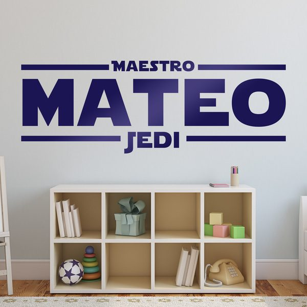 Wall Stickers: Custom Master Jedi