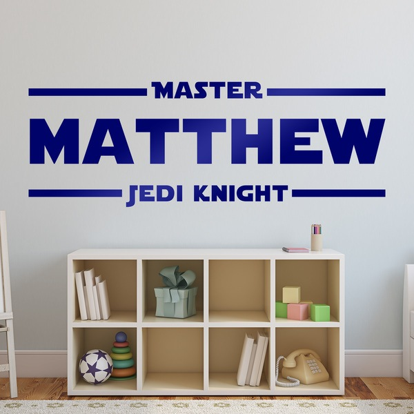 Wall Stickers: Custom Master Jedi Knight