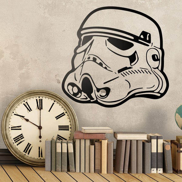 Wall Stickers: Stormtrooper Helmet