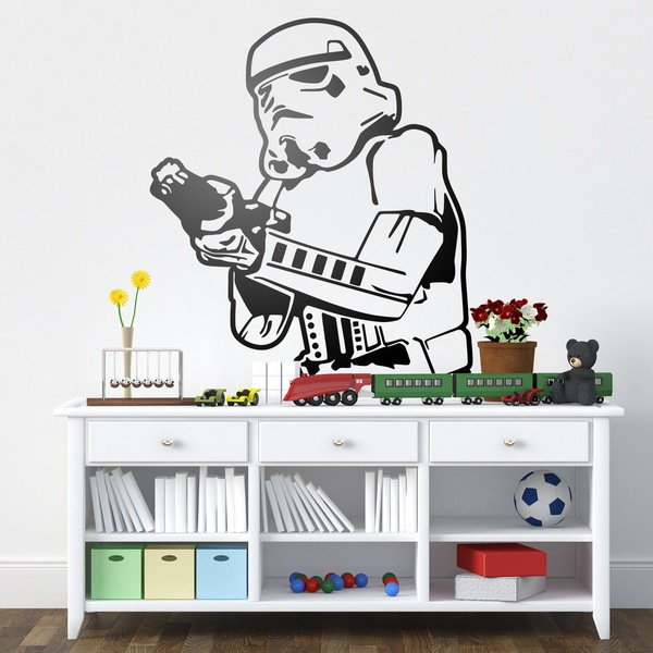 Wall Stickers: Stormtrooper 1