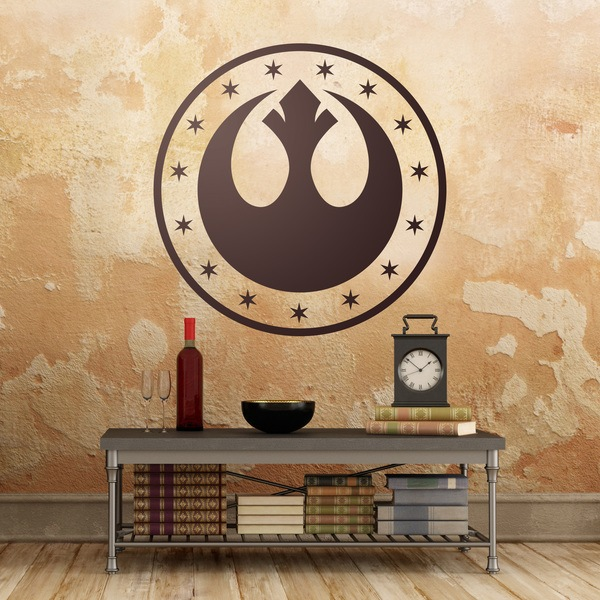 Wall Stickers: Symbol New Republic