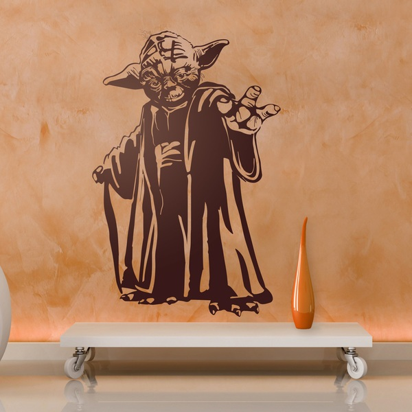 Wall Stickers: Master Yoda