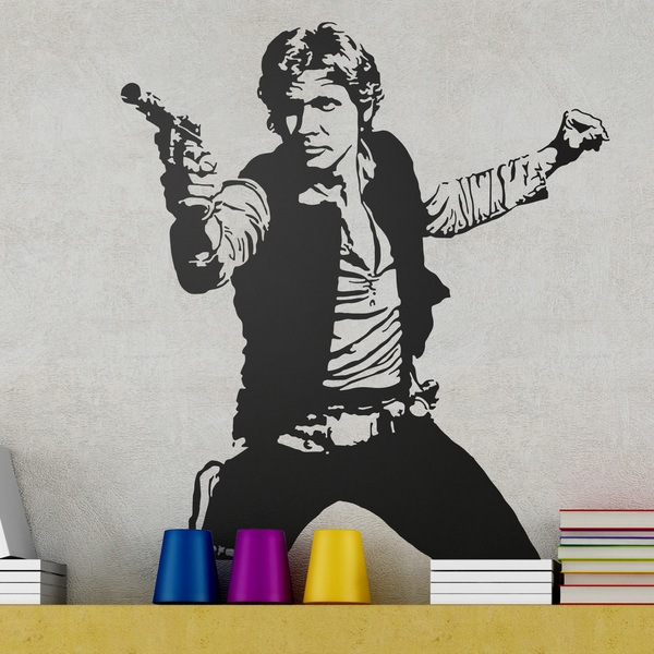 Wall Stickers: Han Solo
