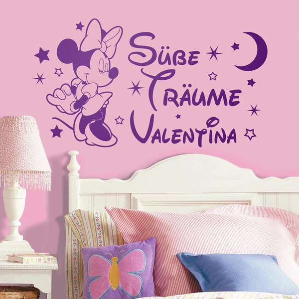 Stickers for Kids: Minnie Mouse, Süße Träume