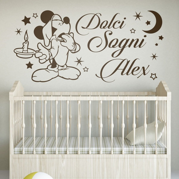 Stickers for Kids: Mickey Mouse, Dolci Sogni