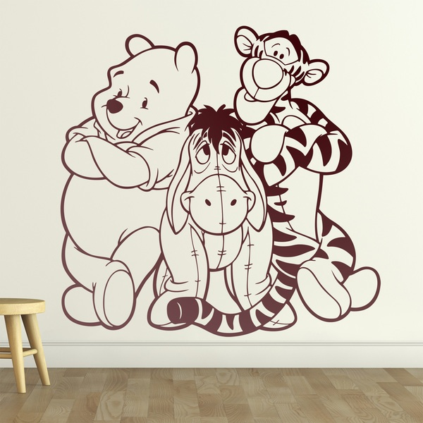 Stickers for Kids: Wall sticker for kids Disney Winnie the Pooh