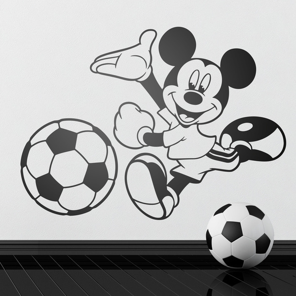 Stickers for Kids: Mickey Mouse shooting