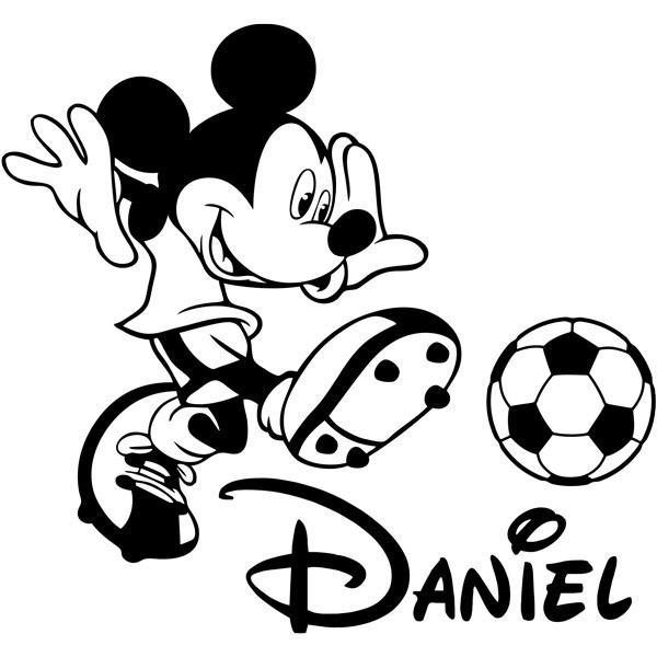 Stickers for Kids: Mickey Mouse Football 3