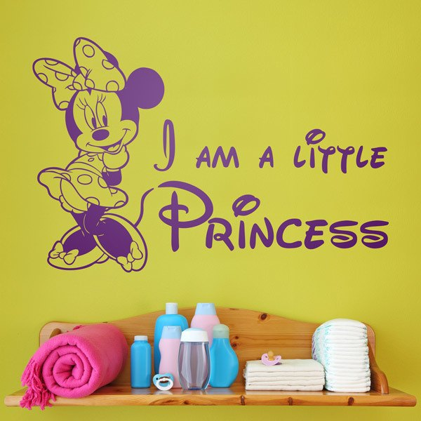 Stickers for Kids: Minnie I am a little princess