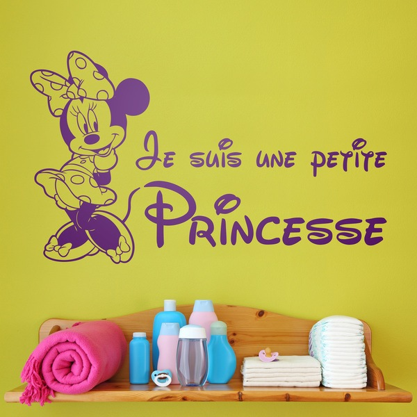 Stickers for Kids: Minnie Je suis une petite princesse 0