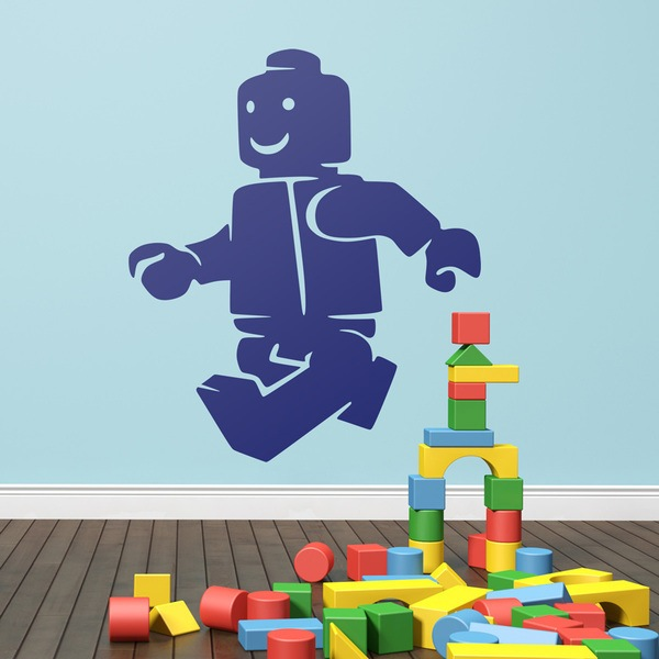 Stickers for Kids: Figure Lego Walking