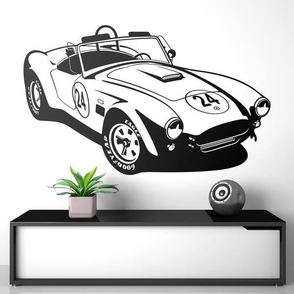 Wall Stickers: AC Cobra Sports Car