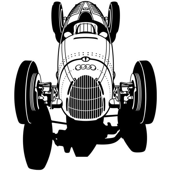 Wall Stickers: Audi Racer Classic