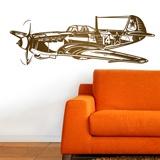 Wall Stickers: World War II fighter plane 2
