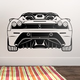 Wall Stickers: Ferrari F430, rear 3