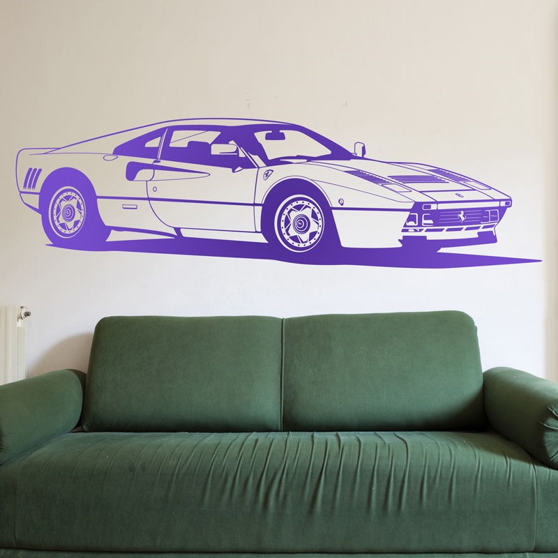Wall Stickers: Ferrari 288 GTO