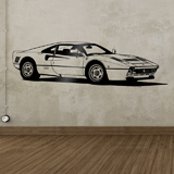 Wall Stickers: Ferrari 288 GTO 3