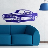 Wall Stickers: Ford Mustang Shelby GT350 - 1966 2