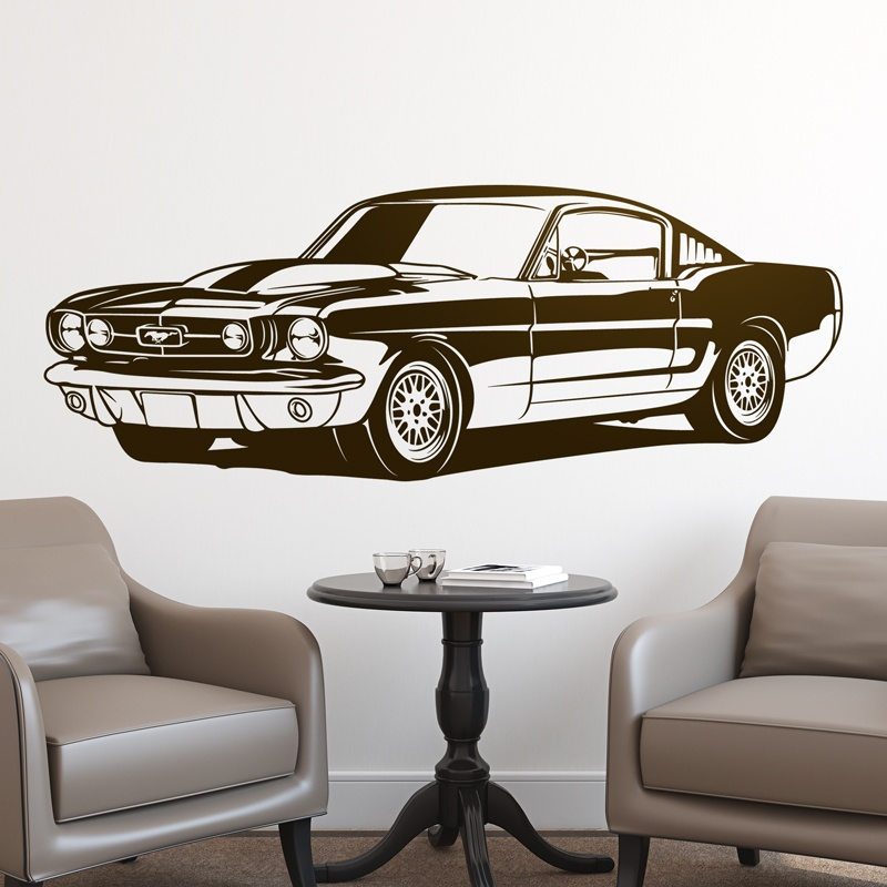 Wall Stickers: Ford Mustang Shelby GT350 - 1966