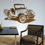 Wall Stickers: Jeep World War II 2