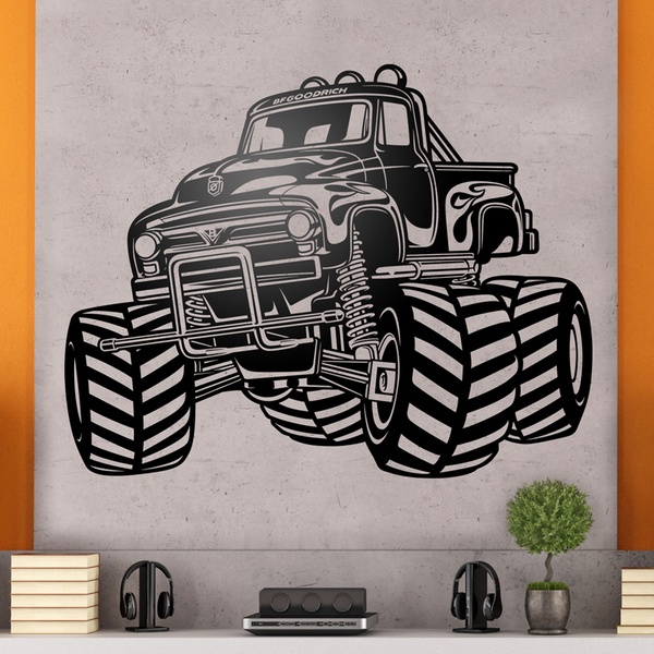 Wall Stickers: Monster Truck BigFoot 0