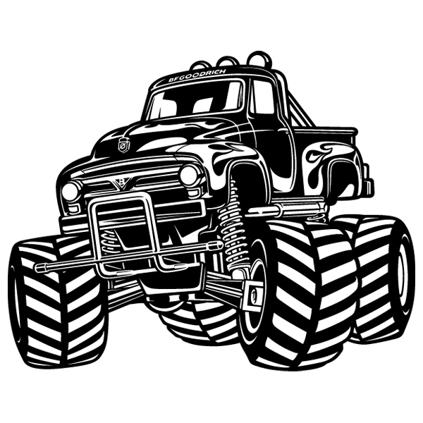 Wall Stickers: Monster Truck BigFoot