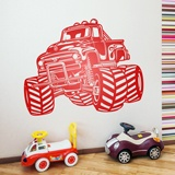 Wall Stickers: Monster Truck BigFoot 2