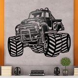 Wall Stickers: Monster Truck BigFoot 3