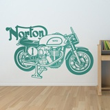 Wall Stickers: Classic motorcycle Norton 2