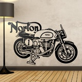 Wall Stickers: Classic motorcycle Norton 3