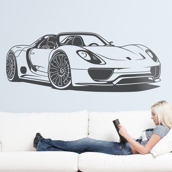 Wall Stickers: Porsche 918 Spyder