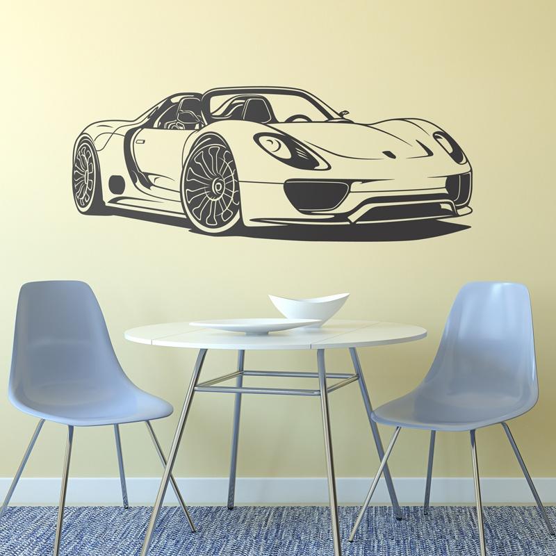 Wall Stickers: Porsche 918 Spyder