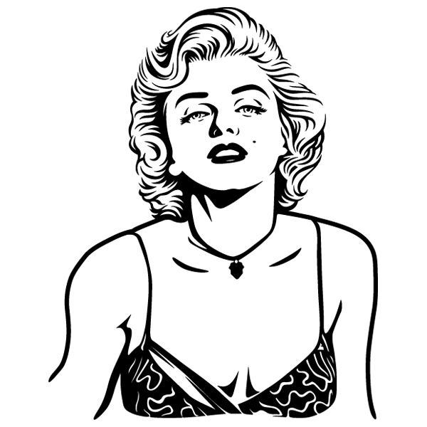 Wall Stickers: Marilyn Monroe