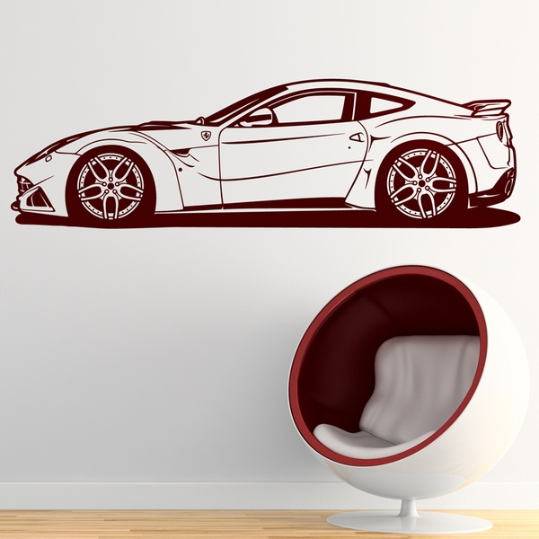 Wall Stickers: Ferrari 599 GTB Fiorano