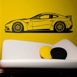 Wall Stickers: Ferrari 599 GTB Fiorano 2
