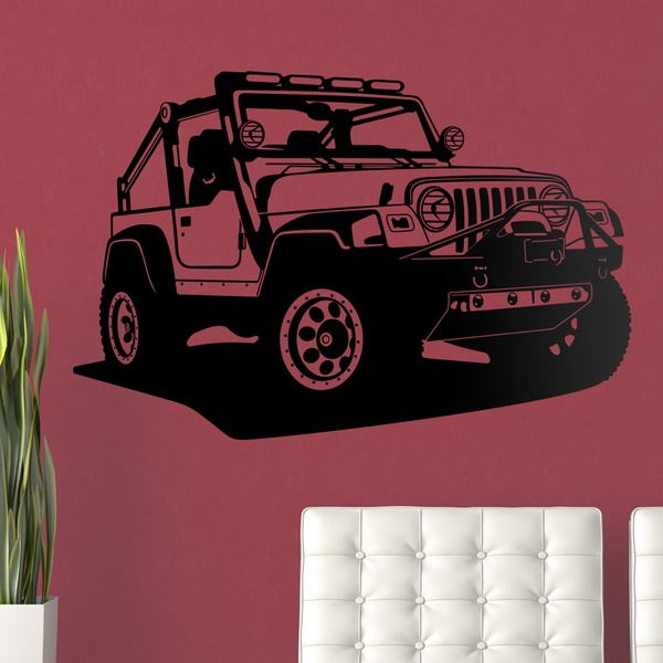 Wall Stickers: Jeep Wrangler