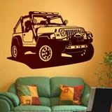 Wall Stickers: Jeep Wrangler 2